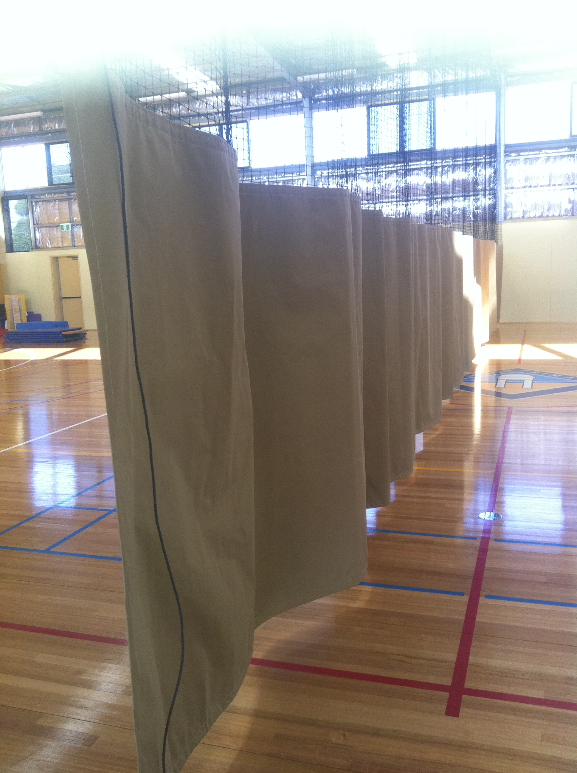 Gym Curtain - Screen